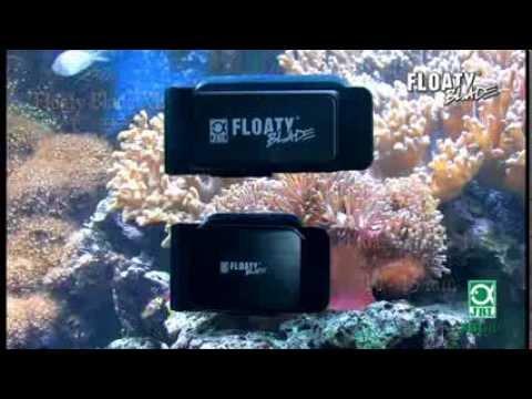JBL FloatyBlade - Schwimmender Algenmagnet für dicke Scheiben mit Klinge