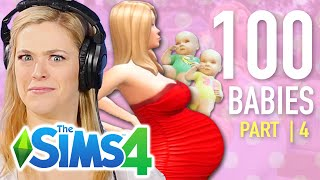 Single Girl Has Twins In The Sims 4 | Part 4