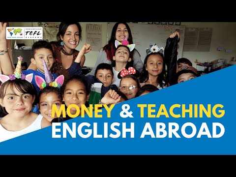 Money And Teaching English Abroad - YouTube