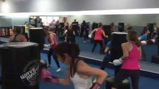 preview picture of video 'Kickboxing Bag Work Amerikick Medford NJ'