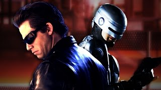 Terminator vs Robocop.  Epic Rap Battles of History