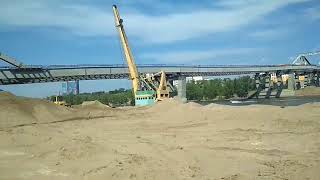 Новости Самары. Строительство Фрунзенского моста в Самаре продолжается