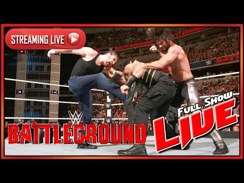 WWE Battleground 2016 Live Full Show Live Reactions
