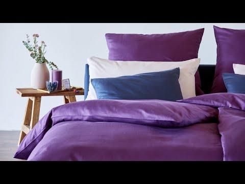 Samtig weiche Bio-Bettwäsche aus Satin für das ganze Jahr von Cotonea