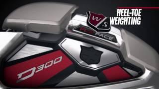 Wilson Staff D300 Irons 4-PW,GW w/Steel Shafts-video