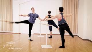 Ballett M/F:  Teil 3, Adagio, Grands battements