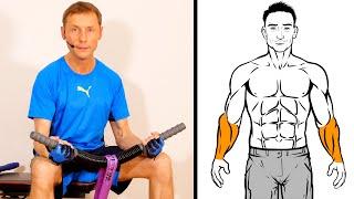 Biegehantel: Unterarmtraining mit Power Twister Equipment - Unterarm Curls (Obergriff, Untergriff)