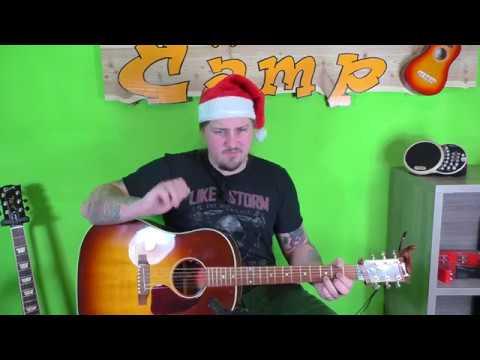 Gitarre lernen – Jingle Bell Rock – Weihnachtslieder für Beginner und Kinder