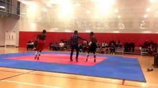 michael myers mma myers full contact taekwondo fight