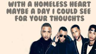 JLS - Homeless Heart Lyrics