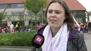 Protest tegen sluiting zwembad de Spetter