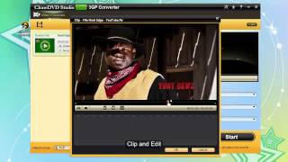 How to convert video to 3gp free with clonedvd free 3gp converter