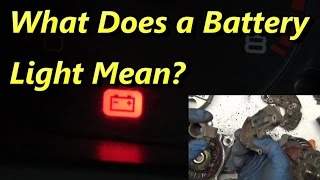 What Makes the Battery Light Come On?