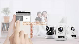 Sricam Indoor IP Camera Video guide ---Deutsch