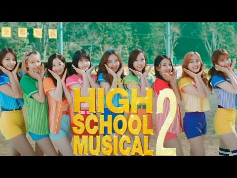 TWICE was the best part of High School Musical 2