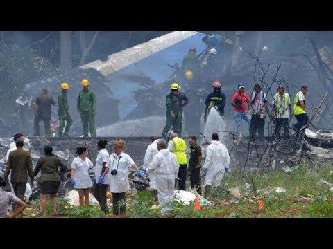 Accidente aereo Cubana al despegar del aeropuerto Jose Marti