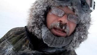 Рыбалка на севере енисея зимой