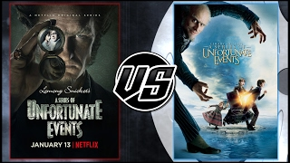 Lemony Snickets VS A Series of Unfortunate Events