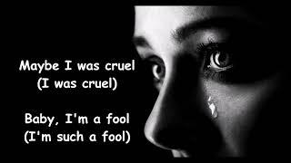 Big Girls Don't Cry  THE FOUR SEASONS (with lyrics)