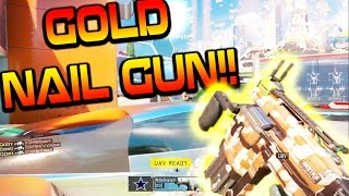 BO3 NEW NAIL GUN ROAD TO GOLD #2!! (BO3 New Weapon Gameplay)
