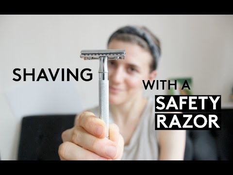Shaving EVERYTHING with a safety razor