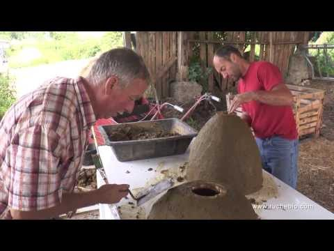 The Sunhive - how to cover a skep beehive  - Weissenseifener Hängekorb  by Gunther Mancke