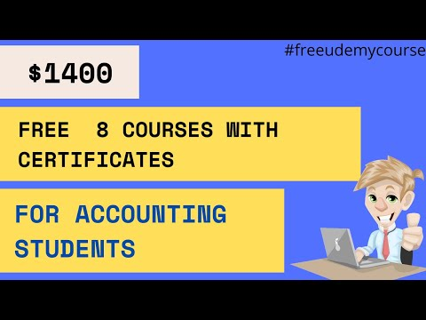 FREE Udemy Accounting Courses With Certificates   Free Online ...