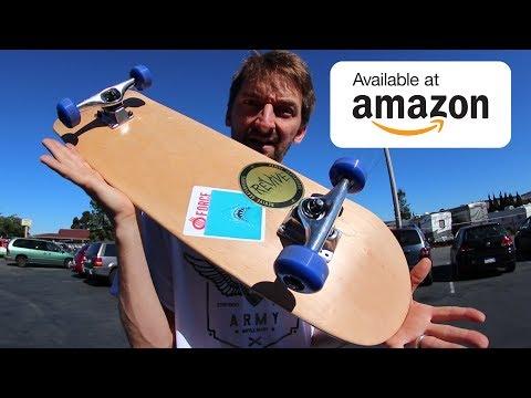 THE $60 AMAZON COMPLETE SKATEBOARD! | CHEAP SKATES EP 10