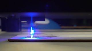 XPlotter laser focusing adjustment
