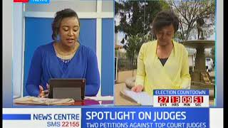 Details on the petitions against top judges