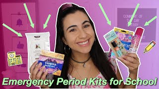 Everything You NEED In A Period Emergency Kit For School (+ Giveaway) | Just Sharon