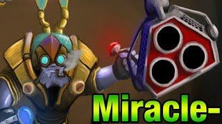 Miracle- Tinker - Full Game - Dota 2