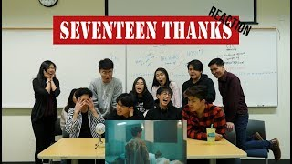 [APRICITY] K Pop Dancers React To Seventeen(세븐틴)   Thanks(고맙다)