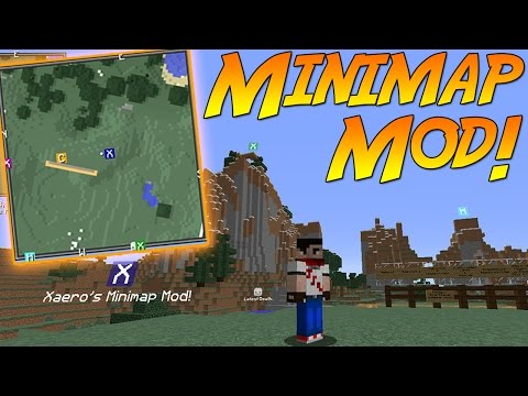 Xaero's Minimap Mod! | Minecraft Mod Showcase!