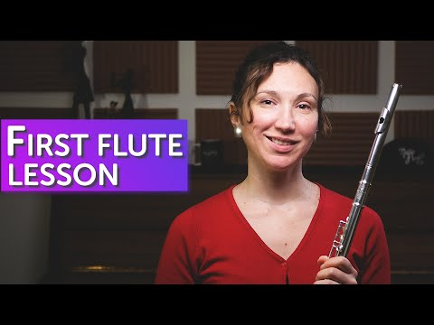 YOUR FIRST FLUTE LESSON | The Flute Channel #TFC