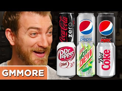 Diet Soda Ranking Taste Test