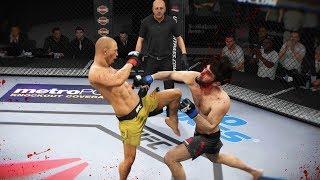 КОЛЕНИ в ГОЛОВУ UFC 3 МИРОВОЙ TOP 10 RANKED