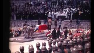 preview picture of video 'Generał Władysław Anders Funeral - Monte Cassino, 23rd May 1970'