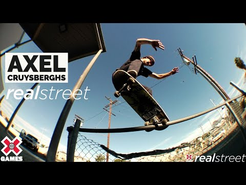 Image for video Axel Cruysberghs: REAL STREET 2021 | World of X Games