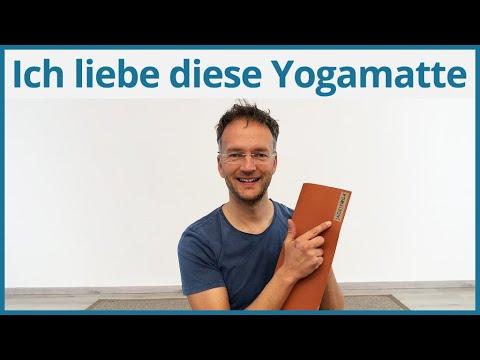 ❤️ rutschfeste Yogamatte und 100% Naturprodukt ❤️