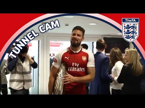 Tunnel Cam - Arsenal Vs Chelsea - FA Community Shield | Inside Access