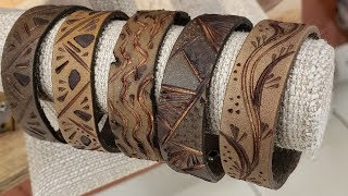 Burning Leather Bracelets - Eps 94