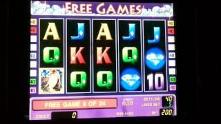 Diamond Trio gaminator slot 100 euros win