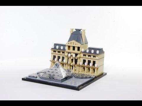 Vidéo LEGO Architecture 21024 : Le Louvre (Paris, France)
