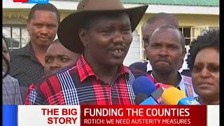 The proposed reduction in counties revenue allocation: Big Story