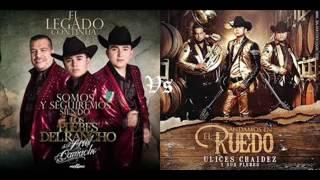 Los plebes del rancho de Ariel Camacho vs Ulices Chaidez y sus plebes ¿Quien ganara?