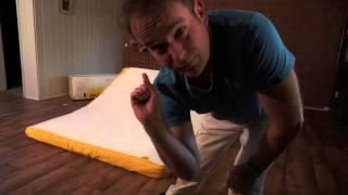 Ausgepackt: Die komfortabelste Viscoschaum-Matratze der Welt - EVE