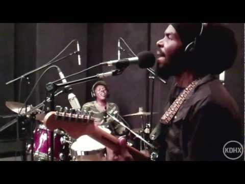 """Zion and the Lion Roots Band """"Uplift Your Spirit"""" Live at KDHX 11/11/11"""