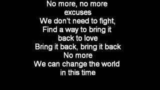 Boyz II Men - One Up For Love [Lyrics On Screen]