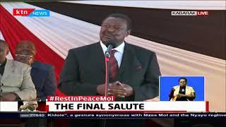 Hon. Musalia Mudavadi pays tribute to Former President Daniel Moi